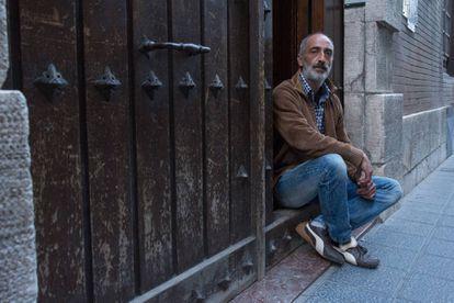 Javier Paz, víctima de abusos sexuales por un cura en Salamanca.