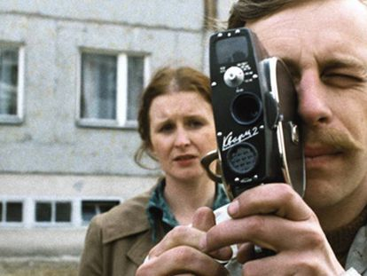 Fotograma del filme 'L'amateur', de Kiéslowski.