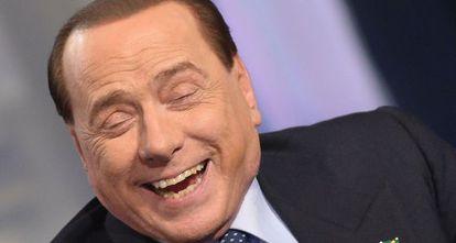 Silvio Berlusconi, en un programa de la RAI, en mayo de 2014.