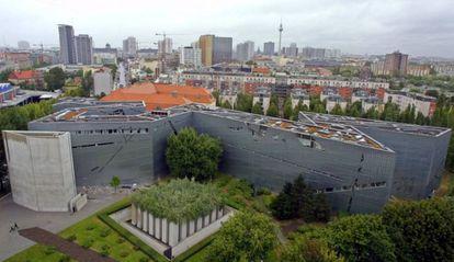 Vista del Museo Judío de Berlín.