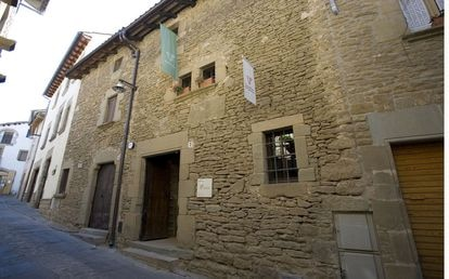 La casa museo Jacint Verdaguer en Folgueroles, Barcelona.