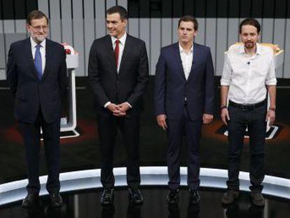 Cuatro redactores de EL PAÍS seleccionan los aspectos más positivos y negativos de las intervenciones de los candidatos en el debate