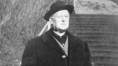 Retrato del cura valenciano Alfons Roig, sin datar.