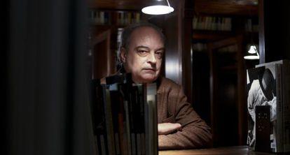 Enrique Vila-Matas fotografiado en Barcelona en 2014.
