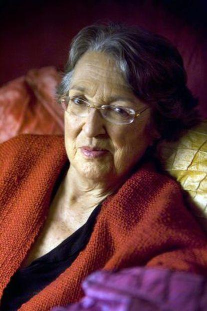 Esther Tusquets, escritora y editora, en una imagen de 2009.
