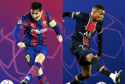 Messi y Mbappé.