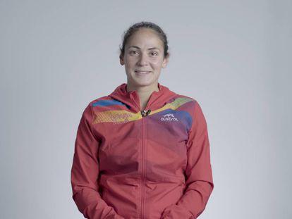 La triatleta Sara Pérez.