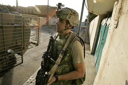 Un soldado estadounidense, durante una operación en Irak.