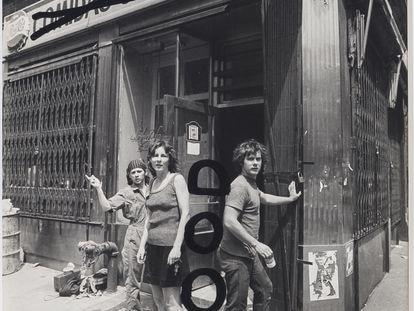 'Food' (1971), fotografía intervenida de Richard Landry y Gordon Matta-Clark.