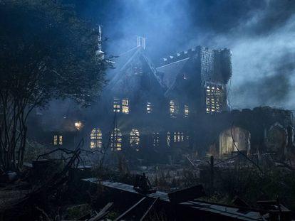 La casa encantada protagonista de 'La maldición de Hill House'.
