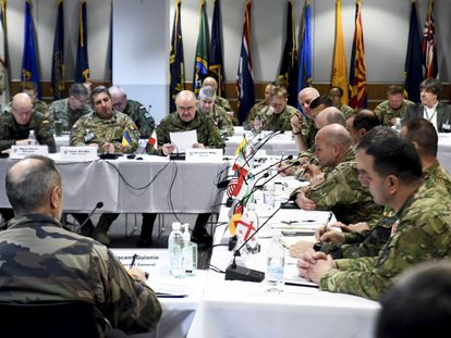 Reunión de los jefes de los ejércitos de Tierra de la OTAN en Wiesbaden (Alemania), el pasado sábado. / STEPHEN PEREZ (DVIDS)