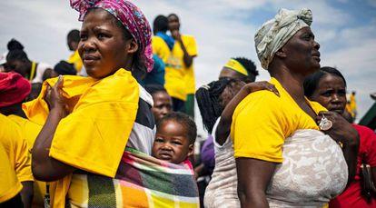Africanos fotos de O lenço