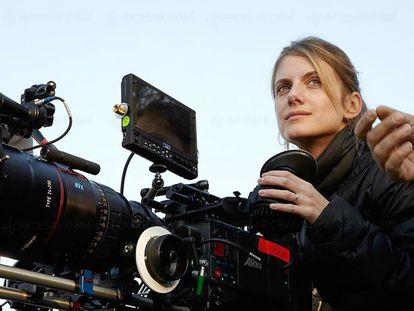 La directora y actriz Melánie Laurent.