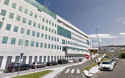Fachada del Complexo Hospitalario Universitario de Ourense.