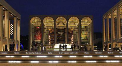 El Metropolitan de Nueva York, en el complejo de artes escénicas Lincoln Center.