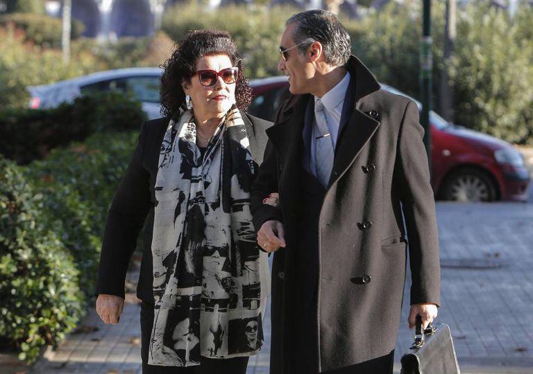 Consuelo Ciscar, exdirectora del IVAM, llega a los Juzgados de Valencia. en una imagen de septiembre de 2019.