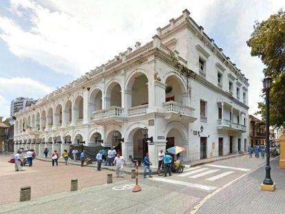 El Palacio de la Proclamación, que albergará el Centro Gabo, en Cartagena, Colombia.