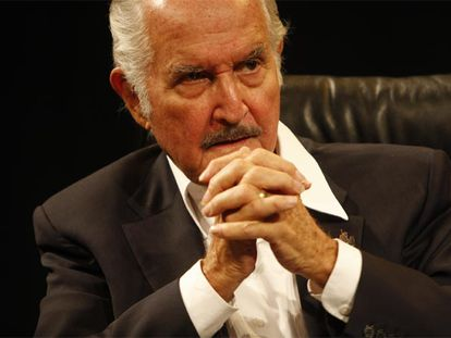 El escritor Carlos Fuentes.