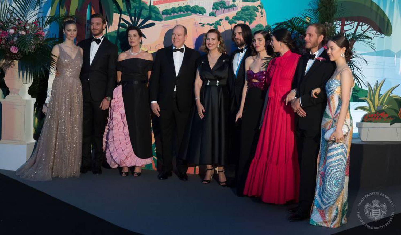 Los Grimaldi, en el Baile de la Rosa de 2019.