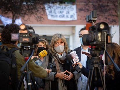 La alcaldesa de L'Hospitalet de Llobregat y presidenta de la Diputación de Barcelona, Núria Marín, en una imagen de archivo