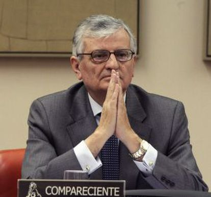 Eduardo Torres-Dulce, durante una comparecencia ante la Comisión de Justicia del Congreso.