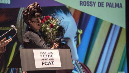 Rossy de Palma en la inauguración del festival.