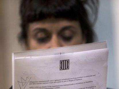 La formación anticapitalista hace pública una carta al  president  diciéndole que  es necesario proclamar la república