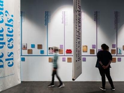 La exposición (In)visibles y (O)cultas se podrá ver en el Museo de Ciencias Naturales de Barcelona hasta mayo de 2022.