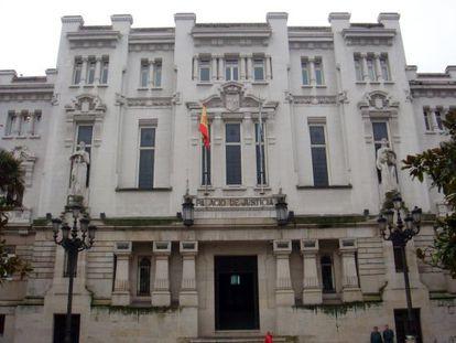 Sede del Tribunal Superior de Xustiza de Galicia en A Coruña.