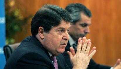 José Luis Olivas en 2007, cuando presidía el Grupo Bancaja y supuestamente viajó a Cuba invitado por empresarios.