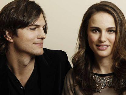 Ashton Kutcher y Natalie Portman.
