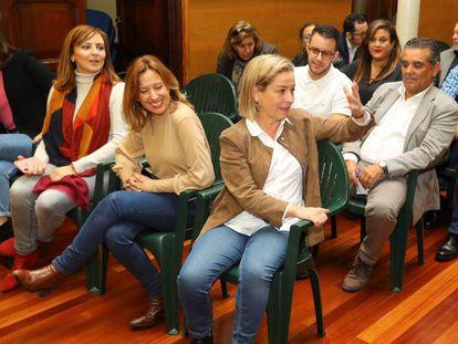 Ana Oramas, el 14 de diciembre en el consejo nacional de Coalición Canaria. En vídeo, Oramas anuncia su no a Sánchez.