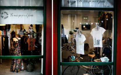 The circular Project Shop es el primer espacio de Madrid especializado en la comercialización y difusión de diseño español Sostenible y Ético.
