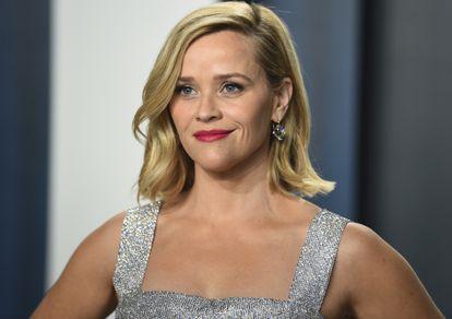 Reese Witherspoon, en una fiesta tras la gala de los premios Oscar en febrero de 2020.