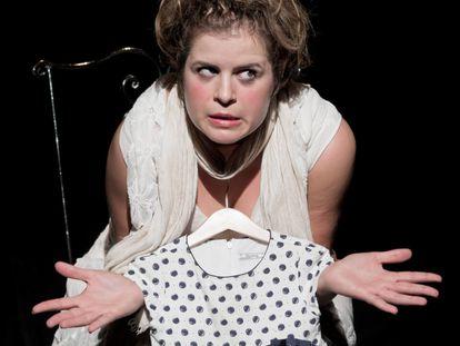 Anna Tamayo en 'Cándida', en la sala Fènix.