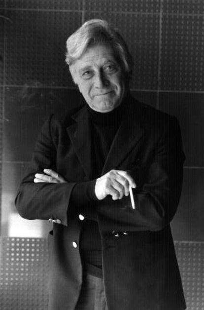 Santiago Genovés, antropólogo, en 1991.
