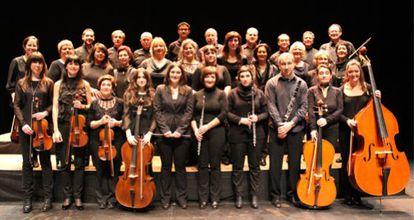 El Coro y Orquesta de Cámara de Bilbao.