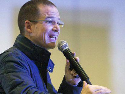 Ricardo Anaya, precandidato a la presidencia de México.
