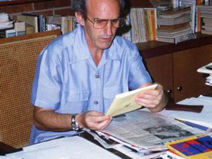 Ignacio Ellacuría, jesuita asesinado en El Salvador.