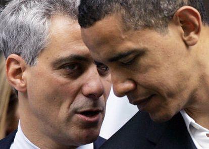 Obama junto Rahm Emanuel en una imagen de archivo