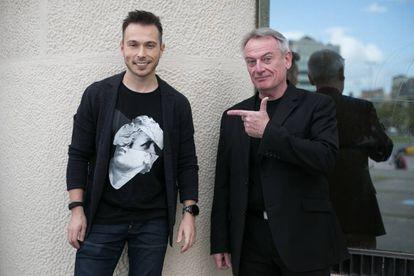 Igor Pesin (izquierda) y Chris Skinner.