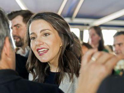 La portavoz de Ciudadanos en el Congreso de los Diputados y su marido, Xavier Cimas, se casaron en 2016