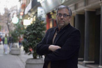 El escritor Joan Garí.