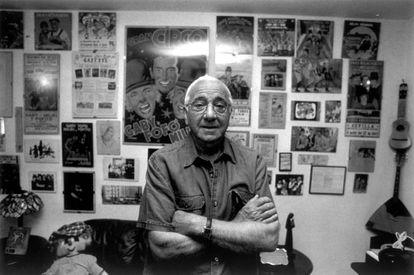 Miliki posa para el libro 'Cincuenta por Vallecas' del fotógrafo Raúl Cancio.