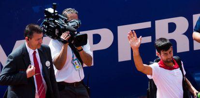 Djokovic se despide tras caer contra Klizan en Barcelona.