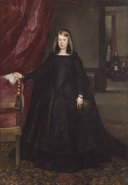 Doña Margarita de Austria, de Juan Bautista Martínez del Mazo.