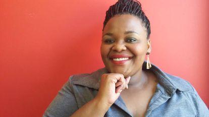La editora Thabiso Mahlape.