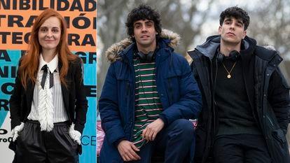 Desde la izquierda, Ana Locking, Javier Ambrossi y Javier Calvo.