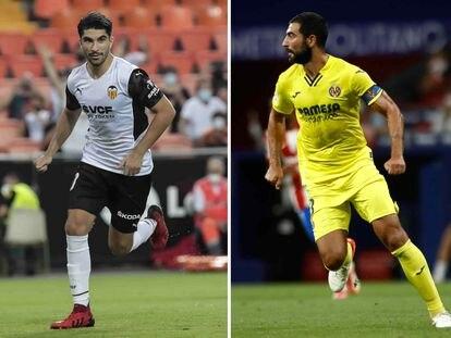 Carlos Soler y Raúl Albiol.