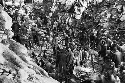 Trabajos ordenados por Stalin entre el lago Onega y el mar Blanco en los años treinta.